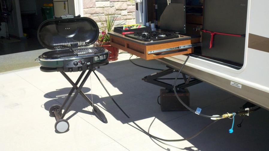 rv gas grill quick connect