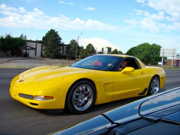 Children's hospital Corvette toy run