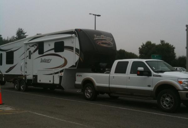2012 Infinity and Ford F350