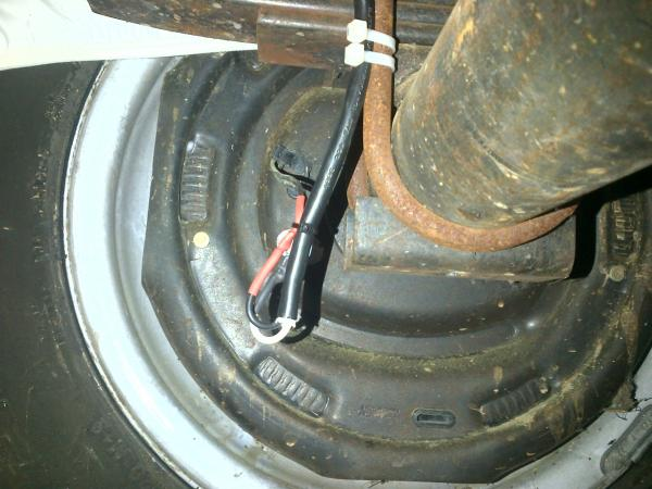 rewired brakes.