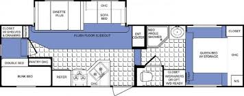 Four Winds 28BH-M5 floor plan
