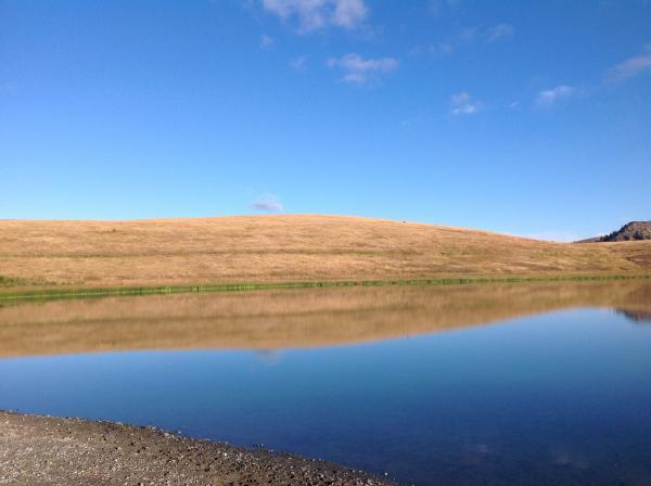 Lundbom lake, merritt bc