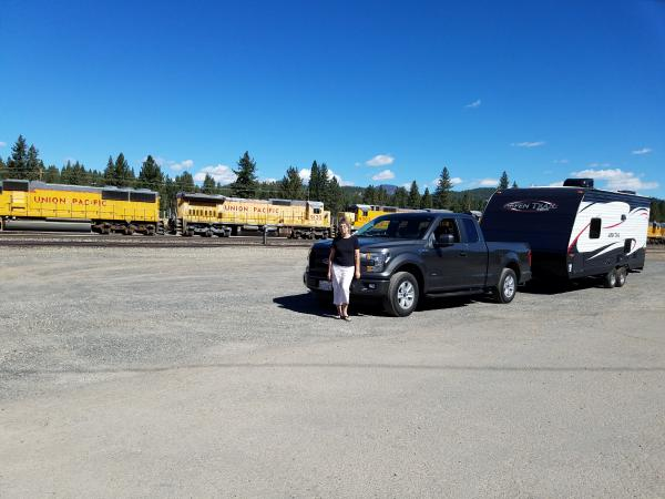 Waiting Outside Western Pacific RR Museum