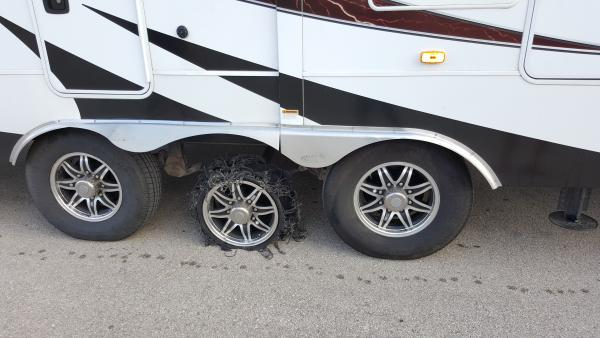 Another Akuret tire doing what they do best..... ugh