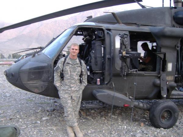 Mike's birthday- Afghanistan 2011