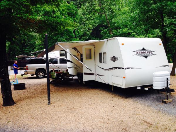 Date of purchase @Shenadoah Valley Campground in VA.