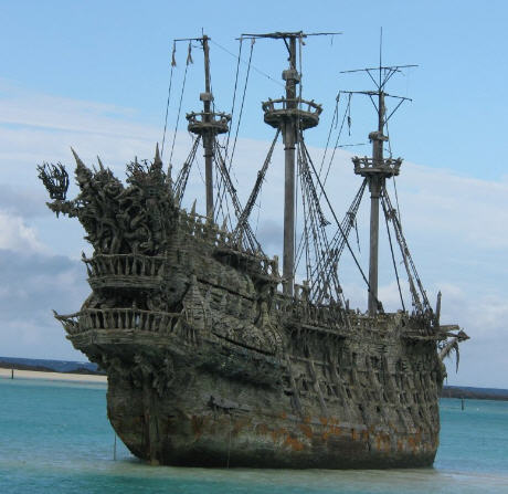 flying dutchman - ghost ship