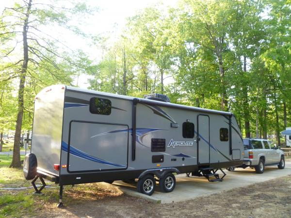 Camping with nature in our 250KBHS.