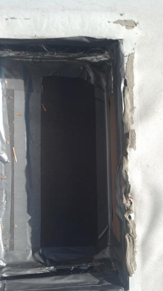 Taped air box