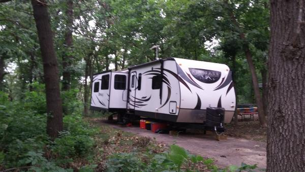 this is our Denali...meets all our needs and then some. Camping is a pleasure in this unit.